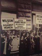 women anti-wilson