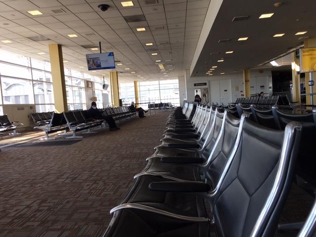 empty reagan airport