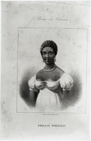 """""""Phillis Wheatley."""" Schomburg Center for Research in Black Culture"""