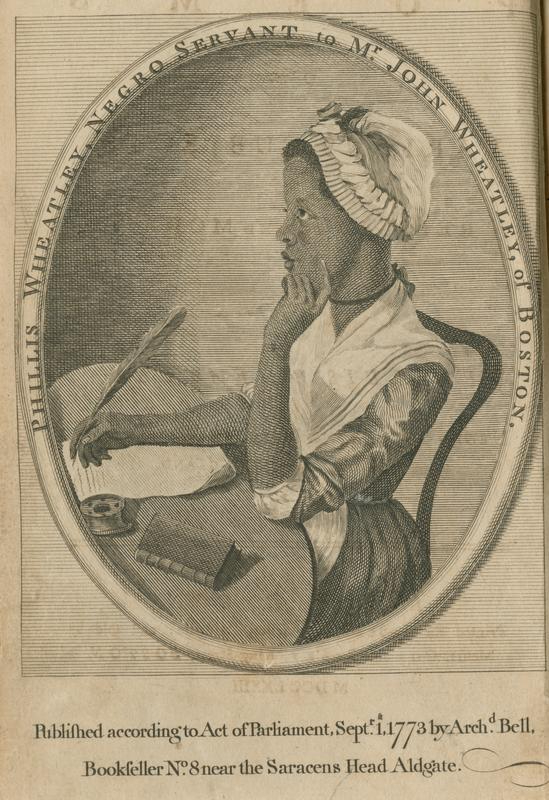 Wheatley, Phillis, 1753-1784.