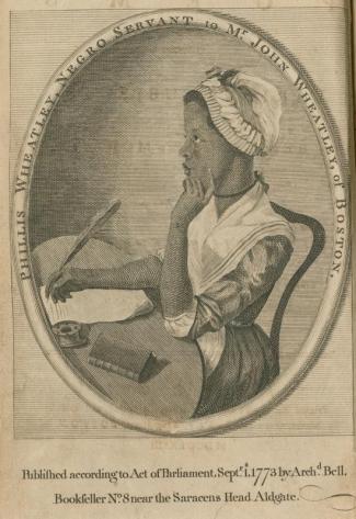 Wheatley, Phillis, 1753-1784 Library Company of Philadelphia